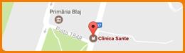 Harta Clinica Sante Blaj