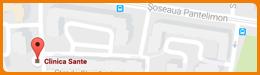 Harta Clinica Sante București