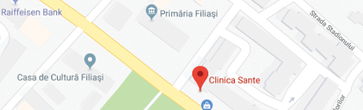 Harta Clinica Sante Filiași