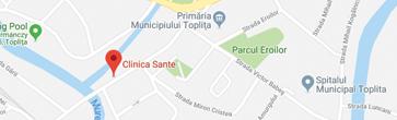 Harta Clinica Sante Toplița