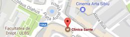 Harta Clinica Sante Sibiu