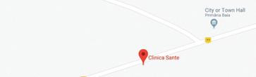 Harta Clinica Sante Baia