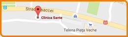 Harta Clinica Sante Tulcea