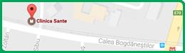 Harta Clinica Sante Timișoara