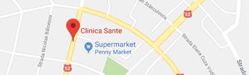 Harta Clinica Sante Turnu Magurele
